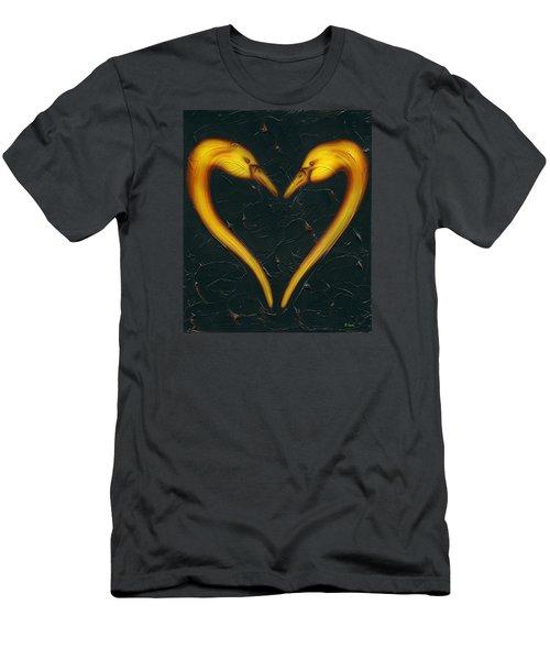 Kiss Men's T-Shirt (Slim Fit) by Kenneth Clarke