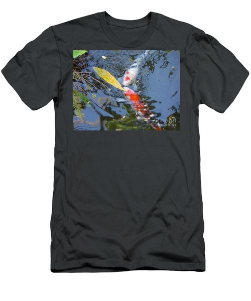 Kissin' Koi Men's T-Shirt (Athletic Fit)