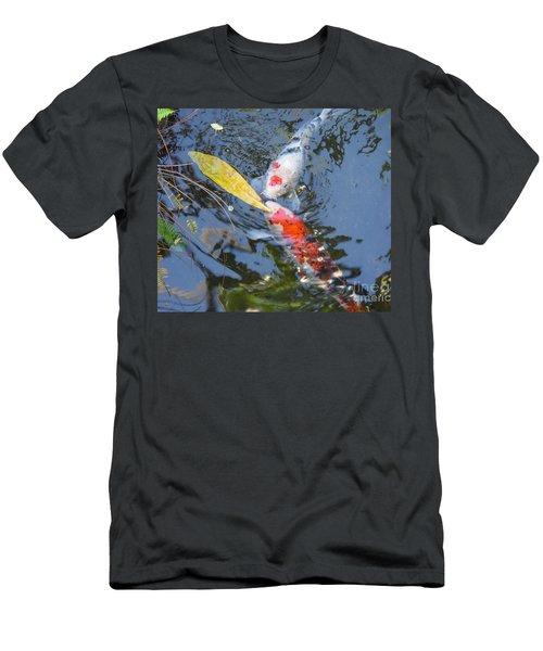 Kissin' Koi Men's T-Shirt (Athletic Fit)