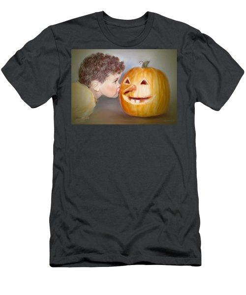 Kissy Face2 Men's T-Shirt (Athletic Fit)