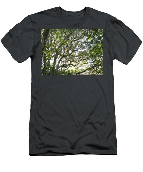 Knarly Oak Men's T-Shirt (Athletic Fit)