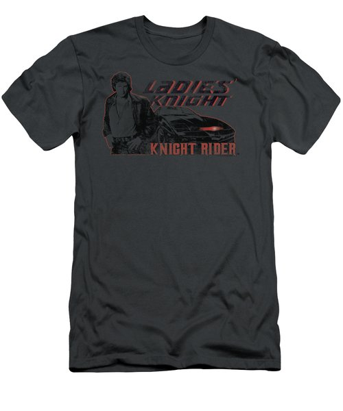 Knight Rider - Ladies Knight Men's T-Shirt (Athletic Fit)