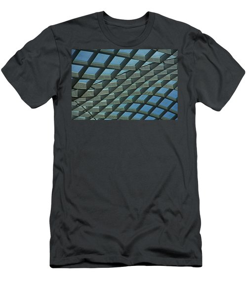 Kogod Courtyard Ceiling #6 Men's T-Shirt (Athletic Fit)