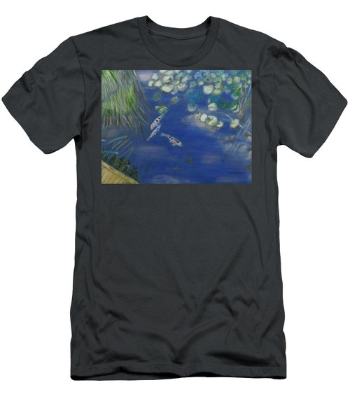 Koi At Red Butte Gardens Men's T-Shirt (Athletic Fit)