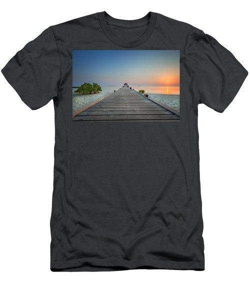 Komandoo Sunrise Men's T-Shirt (Athletic Fit)