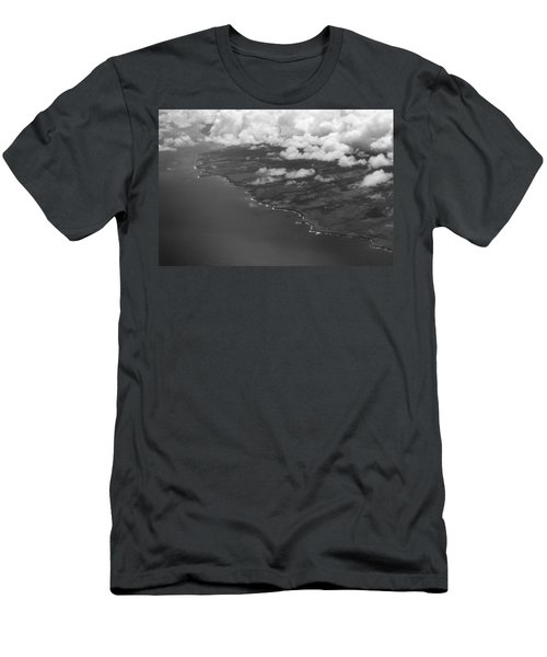Kona And Clouds Men's T-Shirt (Athletic Fit)