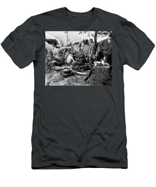 Korean War Wounded Men's T-Shirt (Athletic Fit)