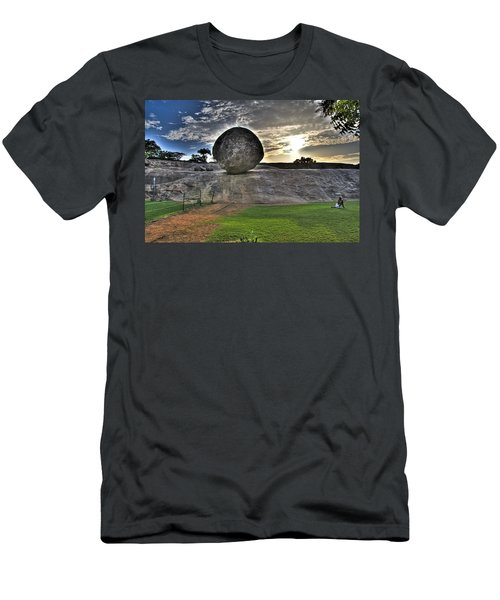 Krishna's Butterball Men's T-Shirt (Athletic Fit)