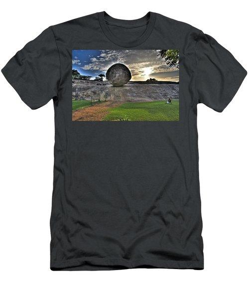 Krishna's Butterball Men's T-Shirt (Athletic Fit)