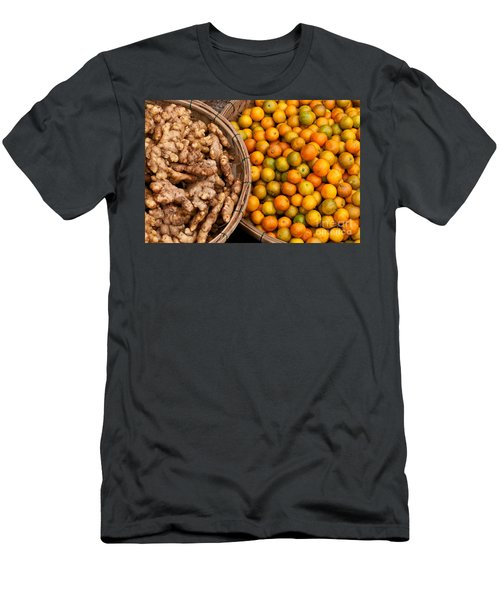 Kumquats And Ginger Men's T-Shirt (Athletic Fit)