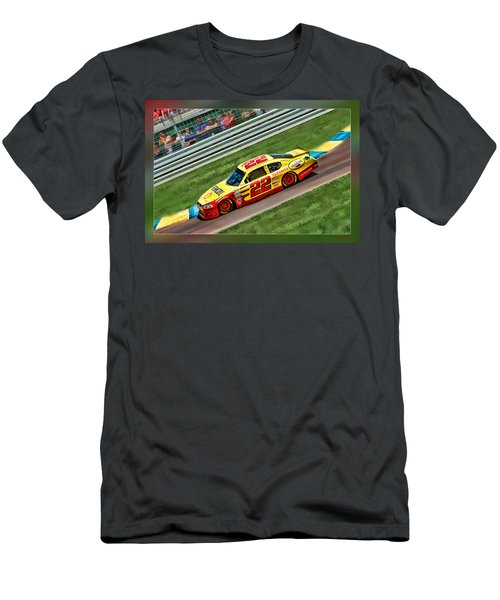 Kurt Busch Men's T-Shirt (Athletic Fit)