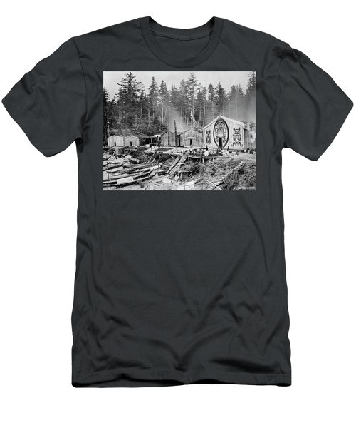 Kwakiutl Village, 1881 Men's T-Shirt (Athletic Fit)