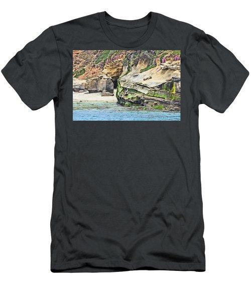 La Jolla Cliffs Men's T-Shirt (Athletic Fit)
