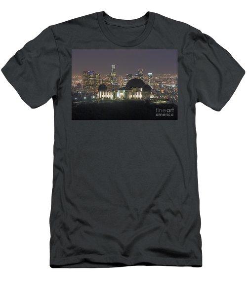 L.a. Skyline Men's T-Shirt (Athletic Fit)