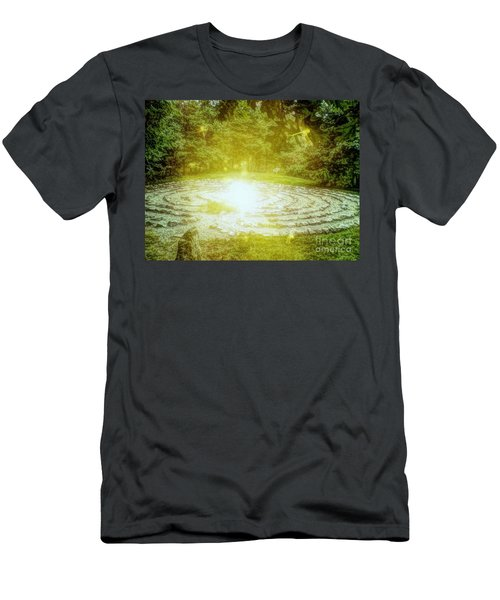 Labyrinth Myth And Mystical Men's T-Shirt (Athletic Fit)