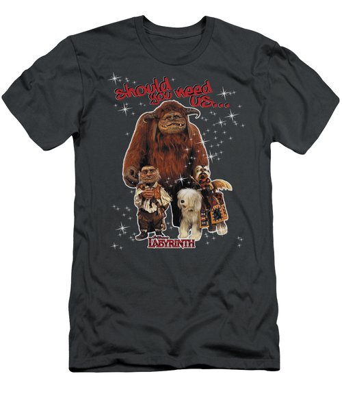 Labyrinth - Should You Need Us Men's T-Shirt (Athletic Fit)