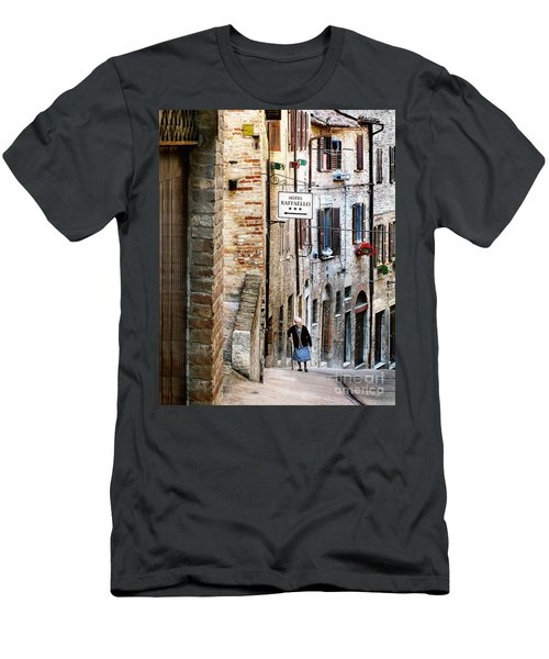 Lady In Urbino Men's T-Shirt (Athletic Fit)
