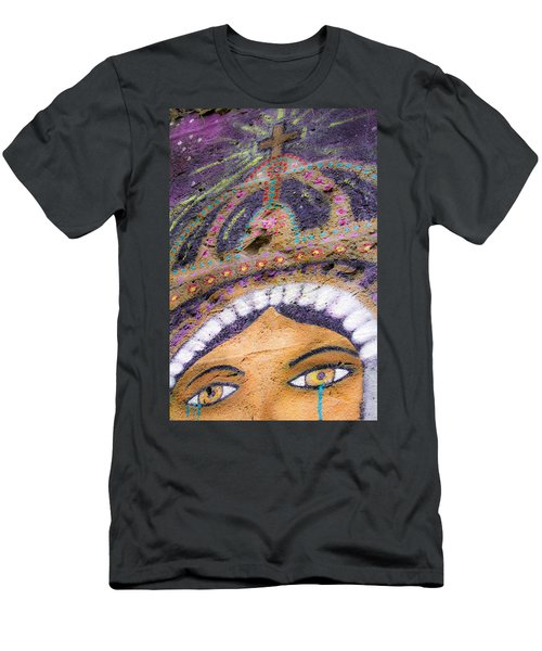 Men's T-Shirt (Slim Fit) featuring the photograph Lady Of Tears by Steven Bateson