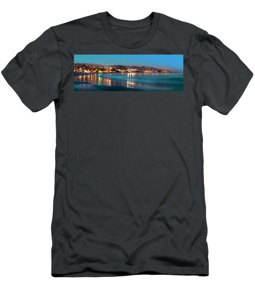 Laguna Beach Twilight Reflections Men's T-Shirt (Athletic Fit)