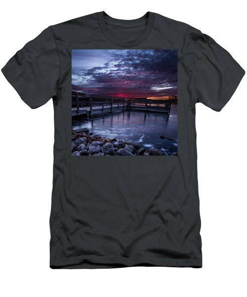 Lake Alvin Men's T-Shirt (Athletic Fit)