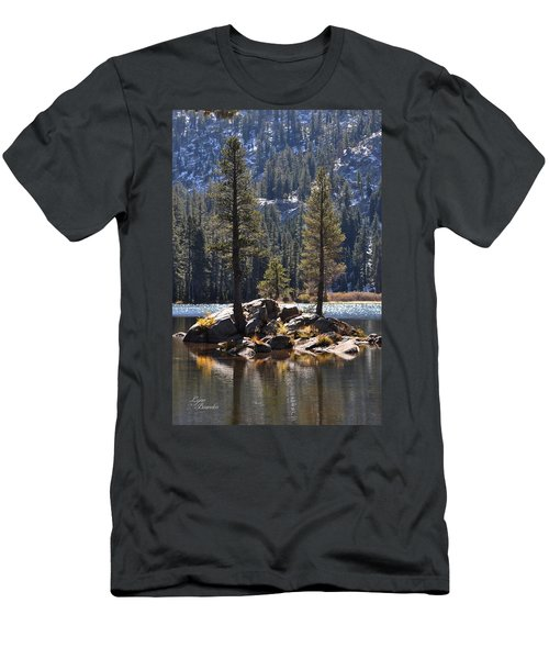 Lake Island Men's T-Shirt (Athletic Fit)