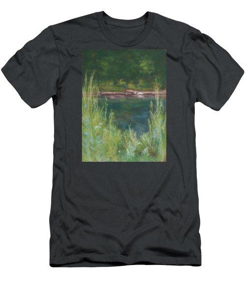 Lake Medina Men's T-Shirt (Athletic Fit)