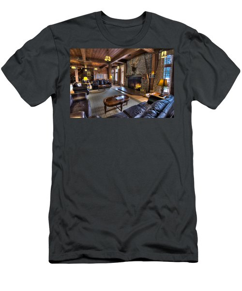 Lake Quinault Lodge Olympic National Park Men's T-Shirt (Athletic Fit)