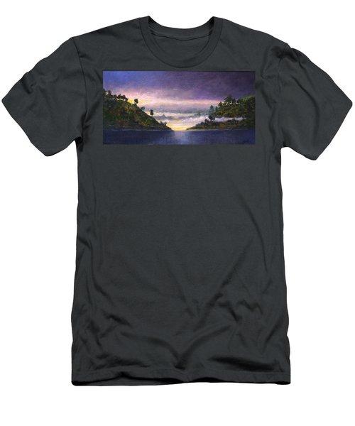 Lake Sunrise Men's T-Shirt (Athletic Fit)