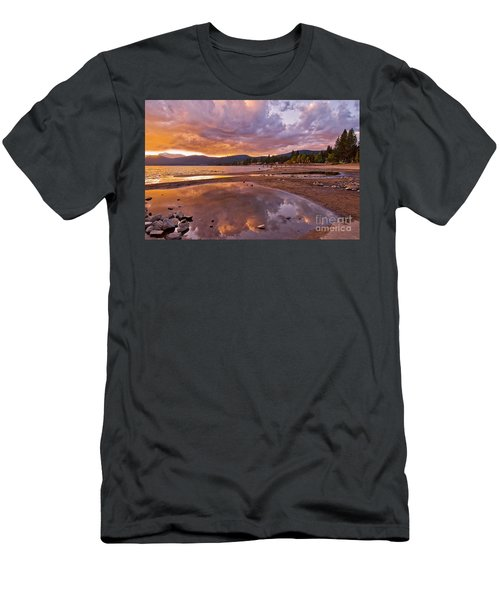 Men's T-Shirt (Athletic Fit) featuring the photograph Lake Tahoe by Mae Wertz