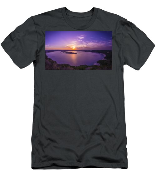 Lake Travis Sunset Men's T-Shirt (Athletic Fit)