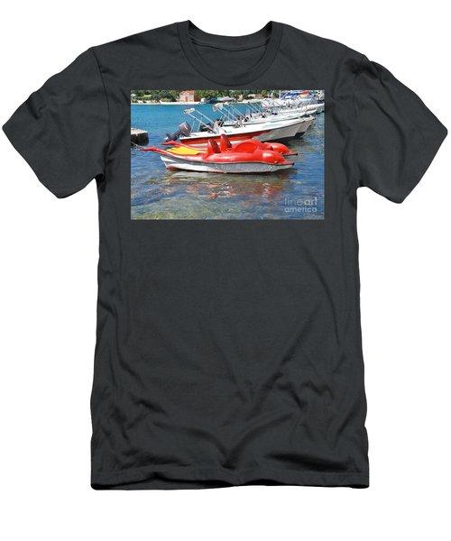 Lakka Harbour Paxos Men's T-Shirt (Athletic Fit)