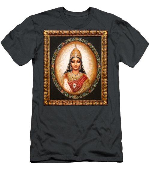 Lakshmi Goddess Of Abundance Men's T-Shirt (Slim Fit) by Ananda Vdovic