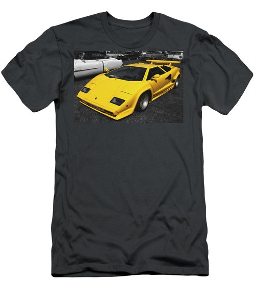 Lamborghini Countach Men's T-Shirt (Athletic Fit)