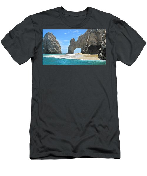 Lands End  Men's T-Shirt (Slim Fit) by Marilyn Wilson