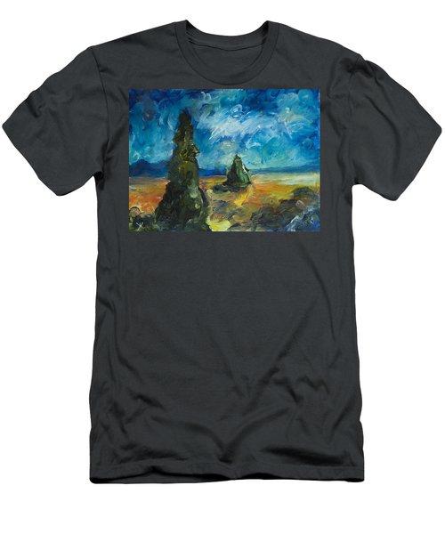Emerald Spires Men's T-Shirt (Athletic Fit)