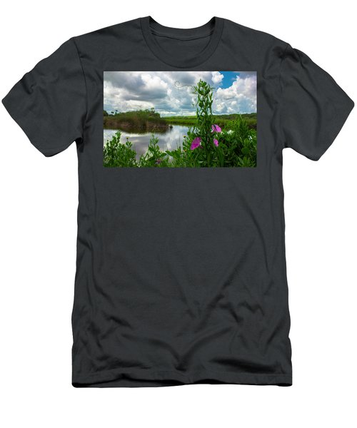 Men's T-Shirt (Athletic Fit) featuring the photograph Landscaped by Tyson Kinnison