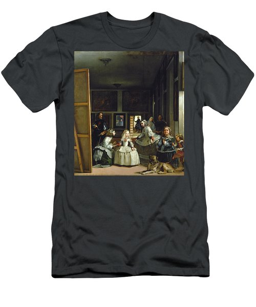 Las Meninas Or The Family Of Philip Iv, C.1656  Men's T-Shirt (Athletic Fit)