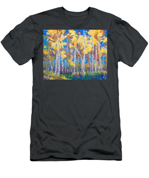 Men's T-Shirt (Athletic Fit) featuring the painting Last Stand by Talya Johnson