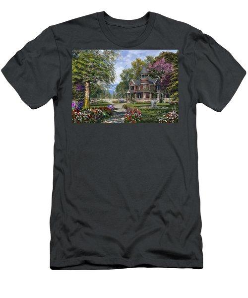 Late Summer Garden Men's T-Shirt (Athletic Fit)