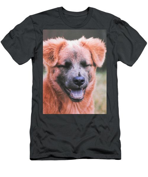 Laughing Dog Men's T-Shirt (Athletic Fit)