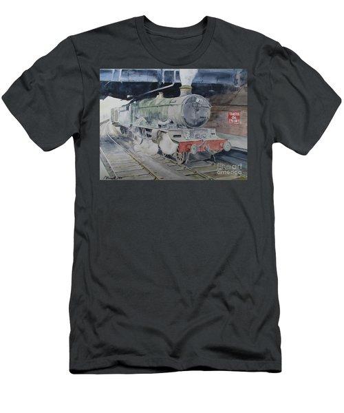 Launceston Castle At Paddington Men's T-Shirt (Athletic Fit)