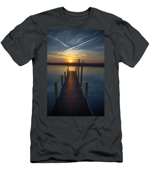 Launch A New Day Men's T-Shirt (Athletic Fit)