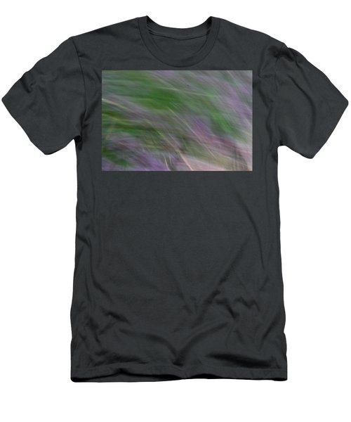 Lavendar Fields Men's T-Shirt (Athletic Fit)