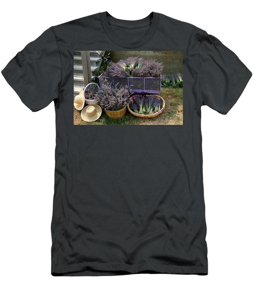 Lavender Harvest Men's T-Shirt (Athletic Fit)