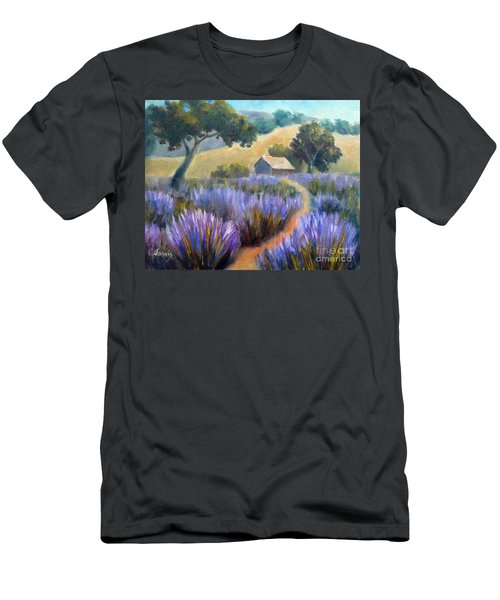 Lavender Path Men's T-Shirt (Athletic Fit)