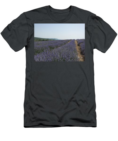 Men's T-Shirt (Slim Fit) featuring the photograph Lavender Sky by Pema Hou