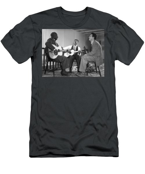 Leadbelly, Josh White, Nicholas Ray Men's T-Shirt (Athletic Fit)
