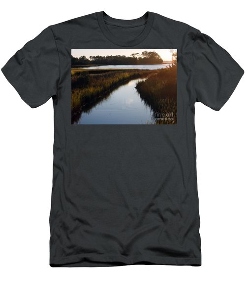 Leading To The Future Men's T-Shirt (Athletic Fit)