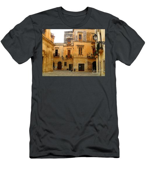 Lecce Stone Men's T-Shirt (Athletic Fit)