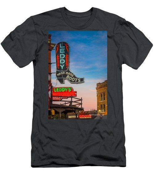 Leddy Boots Men's T-Shirt (Athletic Fit)